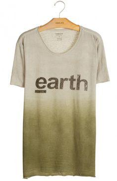 Osklen - T-SHIRT RÚSTICA EARTH
