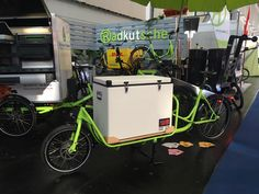 """Passend zum Sommer: der mobile Eisstand """"Rapid Ice 1""""  #Rapid #Eisfahrrad #Lastenrad #nachhaltigeMobilität"""