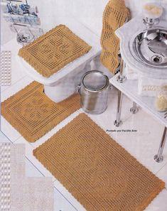 Facilite Sua Arte: Crochê Banheiro