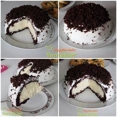 Chocolate Recipes, Chocolate Cake, Biscuits Fondants, Pasta Cake, Turkish Recipes, Ice Cream Recipes, Yummy Cakes, Cake Recipes, Cake Decorating
