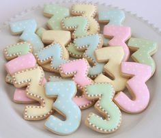 Number 3 cookies by Miss Biscuit | by Miss Biscuit