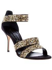 CASADEI - stud embellished sandal