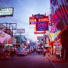 Pattaya, Thailand - amazing that the pictures don't show the dark, seedy, and real Pattaya.