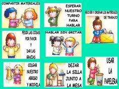 Las reglas de nuestra clase en espanol