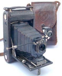 Kodak No 1 Junior Autographic Model A 120 Roll Film Camera c1914-27