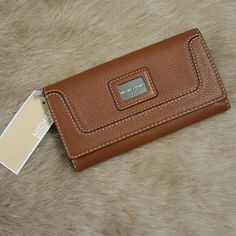 michael kors brown wallet new new with tags Michael Kors Bags Wallets