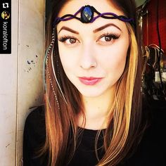 The Supreme Dream Weaver creates the most amazing macrame headbands/necklaces! Check her out! by ocelomeh. Macrame Headband, Legolas, Wicca, Labradorite, Supreme, Headbands, Like4like, Inspire, Necklaces