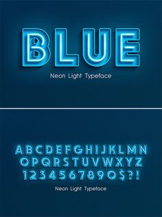 Huge list of best professional fonts and typefaces for designers. These top fonts was inspired by classic and modern fonts. Font Design, Lettering Design, Lighting Logo, Neon Lighting, Crea Design, Logo Minimalista, 3d Alphabet, Light Font, 3d Text Effect