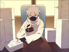 Defining efficiency since the begining of time: Hatake Kakashi as the rokundaime - understanding what you are doing reduces the speed of getting it done, right :)