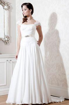 2014 Dreamlike Strapless With Beading Tulle Sweep Train Wedding Dress