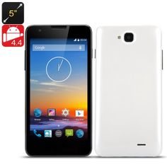 5 inch QHD Smart Phone 'Maestro' (White)