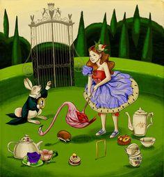 Alice in Wonderland , by Alice