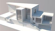 Plan Exclusive 3 Bed Farmhouse Plan with Optional Bonus Room - Civil Bro Maquette Architecture, Concept Models Architecture, Architecture Model Making, Architecture Plan, Interior Architecture, Architecture Diagrams, Architecture Portfolio, Casas The Sims 4, Appartement Design
