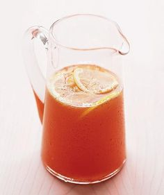A lively version of lemonade fizzes with carbonated water. http://www.realsimple.com/food-recipes/shopping-storing/beverages/cool-beverages-sultry-day/nonalcoholic-beverages