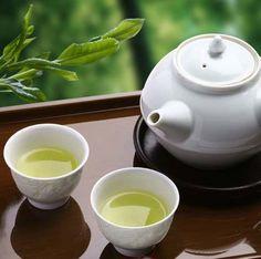 Japanese Organic Green Tea Sencha... Wanting to try this! More antioxidant and Vitamin C than Matcha!!!