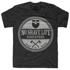 LumberJack Men's Beard Shirt - Dark Heather Grey