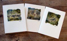 Teabag cards by Kim Henkel