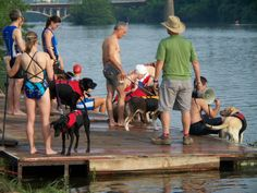 The May 27 Doggie Du, in which humans compete in tandem with their four-legged friends in a 200-meter open water swim followed by a 1-mile run, is shaping up to be an exercise in hilarity.