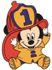 Baby Mickey Fire Hat