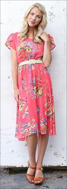 Savannah Dress [MW22063] - $54.99 : Mikarose Boutique, Reinventing Modesty