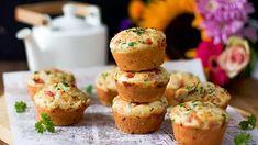 Elokuun täydellinen välipala: suolaiset muffinssit – valmistuvat käden käänteessä! - Ajankohtaista - Ilta-Sanomat A Food, Food And Drink, Savory Pastry, Muffin, Baking, Breakfast, Pastries, Morning Coffee, Bakken