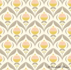 new patterns from Elizabeth Olwen...love this colour palette!