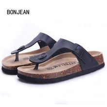 03f232721 New Men Summer Sandals Cork Shoes Slippers Casual Shoes Mixed Colors Beach  Slippers Flip Flops Flats Slides Plus Size 39 44-in Slippers from Shoes on  ...