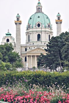 Architecture Sketchbook, Baroque Architecture, Church Architecture, Castle Pictures, Unique Buildings, Abandoned Castles, Vienna Austria, Wonderful Places, Amazing Places