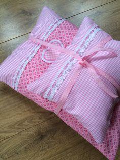 Puppenkleidung - Puppenbettwäsche *Rosa* - ein Designerstück von Creative-Happiness bei DaWanda