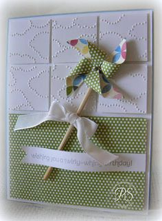 Stampin' Up! Birthday  by Penny Smiley at Stampsnsmiles: A Twirly-Whirly Birthday