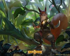 ArtStation - Scout squirrel , Rudy Siswanto