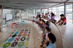 The Fuji Kindergarten (Ring Around the Tree School), Japan