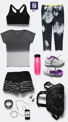 Let's Turn It Up !! #Nike #Outfit #Run #Training #Women