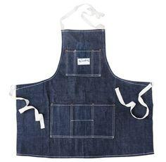 Stronghold selvage denim apron | Kaufmann Mercantile