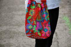 #StreetStyle Wayuu Mochila Bags
