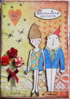 Sophie's Art: Silberne Hochzeit...