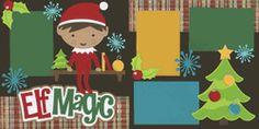 Elf Magic-Boy Page Kit