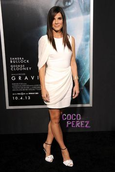 Sandra Bullock is a cosmic confection at the Gravity premiere in NYC!