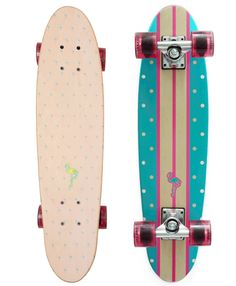 Never send a man to do a woman's job. LMNADE's series of cruiser decks are exclusively styled and designed for female riders. PACIFIC Series – x The sleeker Pacific series features a super-low Novelty Items, Novelty Gifts, Weird Inventions, Longboard Design, Cruiser Skateboards, Skate Surf, Skateboard Girl, Longboarding, Snowboards