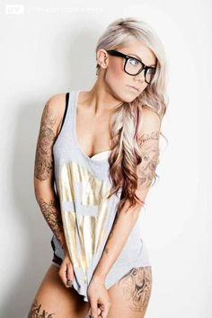 Colored Reverse Ombre Hair Extensions - Blonde to Copper Tips /