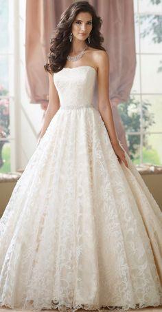 Princess David Tutera for Mon Cheri Wedding Dress