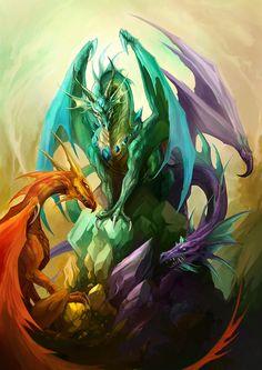 I so love dragons....................