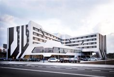 Futuristic Architecture Concept: Futuristic Architecture SOF Hotel Designed by J. MAYER H. Architects in Poland
