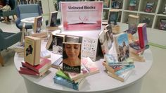 Unloved book display Reading Display, School Librarian, Doa, Four Square, Polaroid Film, Books, Libros, Book, Book Illustrations