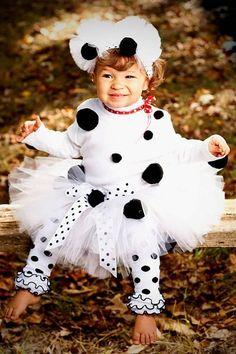 Dotty Dalmatian Tutu Costume, so cute