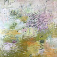 A walk in the garden always makes me feel better.  Today's work.  Almost there. #softcolors #garden #gesturalabstraction #lyricalpainting #abstractlandscape #abstractexpressionism #katezimmerart #katezimmer #impressionism #channellingmonet #interiordesign #design #luxurydesign
