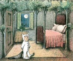 Maurice Sendak Print, Max's Room