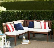 """(put a """"back"""" on our built-in benches and add cushions) Chatham Banquette & Cushion"""
