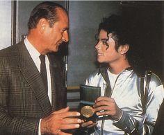 Jacques Chirac & Michael Jackson