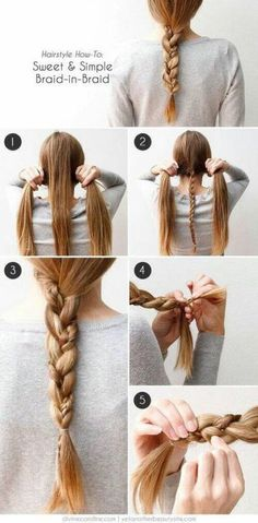 it's easy to make this hair
